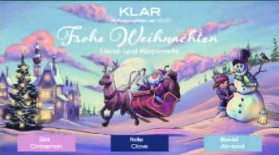 Klar's Weihnachtsset Stille Nacht 3x100g