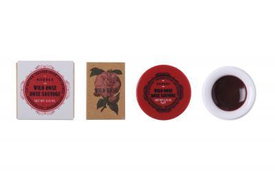 Vintage Lip Butter Pot - Wild Rose